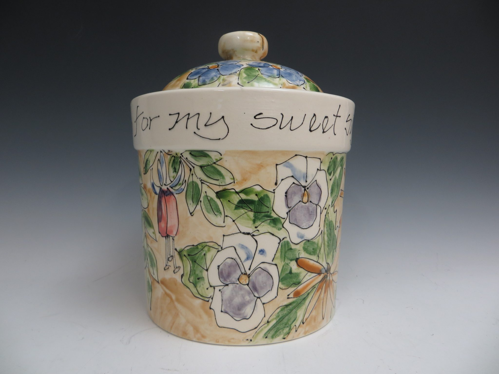 Jan Francoeur Canister With Lid
