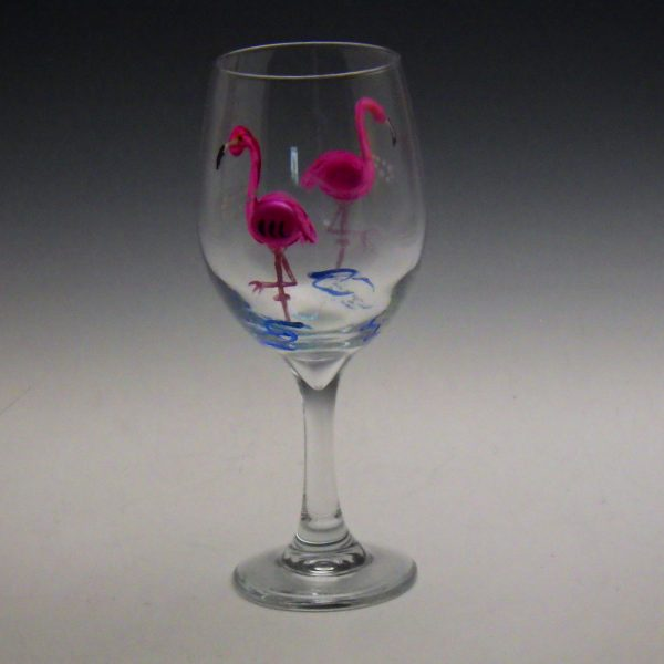 Wine Glass w/ Marbles