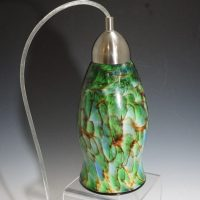 Glass Forge Pendant Lamp - GREEN