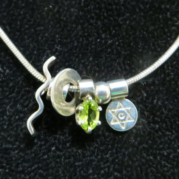 Joan Horn Mini Star of David Necklace