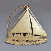Jan Francoeur Ornament Sailboat 2013