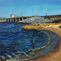 Stephen Moore Harkers Island Bridge