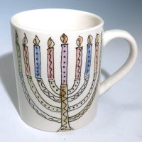 Jan Francoeur Mug Happy Hanukkah