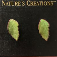 Fern Impression Earrings Small