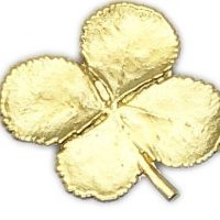 Clover Impression Scatter Pin