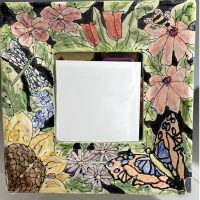 Jan Francoeur Mirror Dark Square