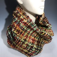 Rising Tide Infinity Weave Scarf