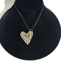 Uncommon Threads Heart Necklace