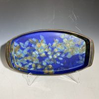 Butterfield Large Rect Blue Tray