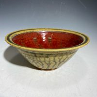 Paul Ray Red Cereal Bowl